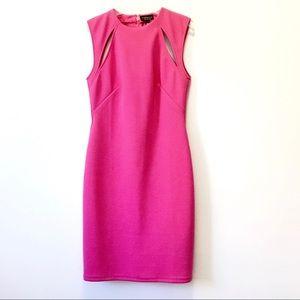 Topshop Pink Fuchsia Bodycon Sheath Dress 6